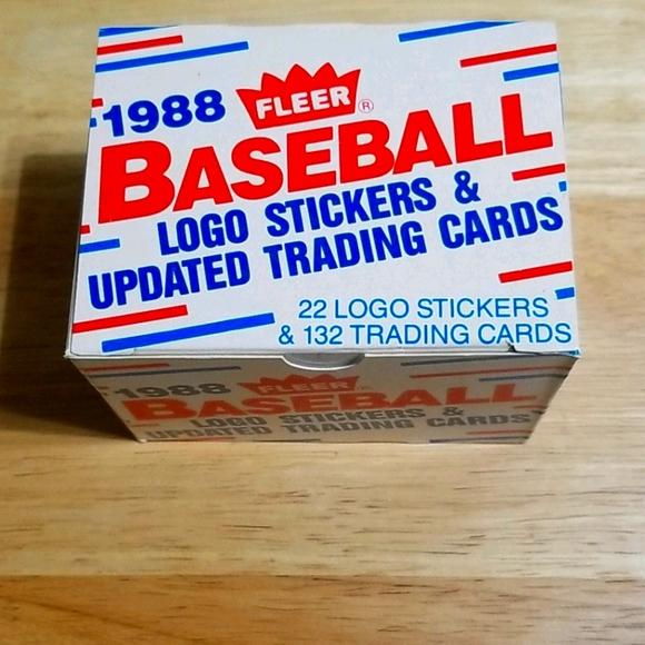 1988 Fleer Updated complete set